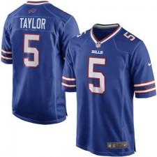 Men's Buffalo Bills Tyrod Taylor Nike Royal Game Jersey