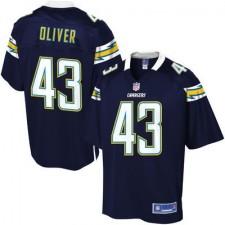 f5cd7b985acf6 Pro línea Hombres San. camisetas-los-angeles-chargers. Disponible. Pro  línea Hombres San Diego Chargers Branden Oliver Equipo Color NFL Tienda ...