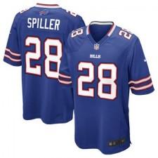 Mens Buffalo Bills CJ Spiller Nike Royal Blue Game Jersey