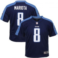 Toddler Tennessee Titans Marcus Mariota Nike Navy Game Jersey