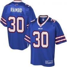 Men's Buffalo Bills Bacarri Rambo Pro Line Big & Tall Team Color Jersey