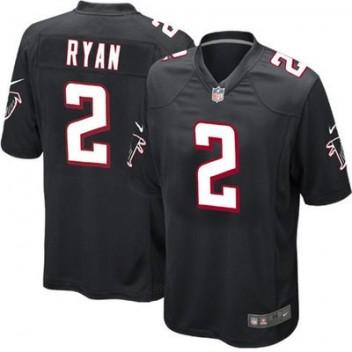 Jóvenes Atlanta Falcons Matt Ryan Nike Negro alternativo Juego NFL Tienda  Camisetas ed5ebe44e00