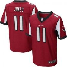 Mens Atlanta Falcons Julio Jones Nike Red Elite Jersey