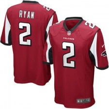 Youth Atlanta Falcons Matt Ryan Nike Red Team Color Game Jersey