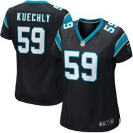 Women's Carolina Panthers Luke Kuechly Nike Black Game Jersey