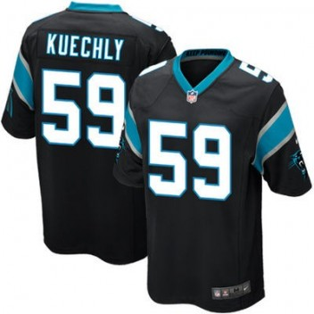 Jóvenes Carolina Panthers Luke Kuechly Nike Negro Equipo Color Juego NFL Tienda Camisetas