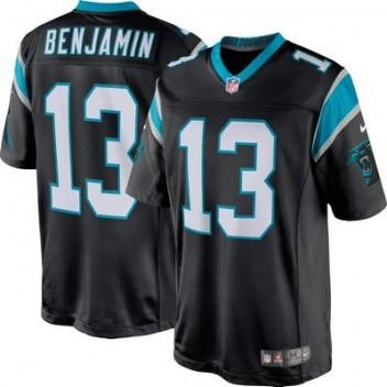 Hombres Carolina Panthers Kelvin Benjamin Nike Negro limitada NFL Tienda Camisetas