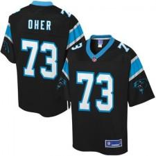 Men's Carolina Panthers Michael Oher Pro Line Team Color Jersey