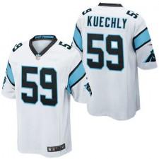 Youth Carolina Panthers Luke Kuechly Nike White Game Jersey