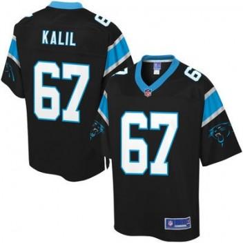 Pro línea Hombres Carolina Panthers Ryan Kalil Equipo Color NFL Tienda Camisetas