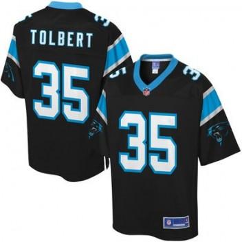 Hombres Carolina Panthers Mike Tolbert Pro línea Equipo Color NFL Tienda Camisetas