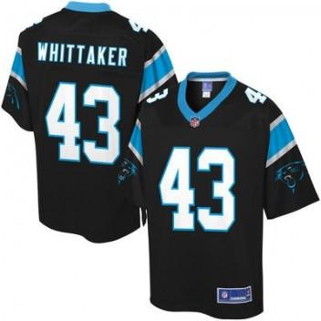 Pro línea Hombres Carolina Panthers Fozzy Whittaker Equipo Color NFL Tienda Camisetas