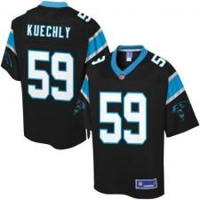 Men's Carolina Panthers Luke Kuechly Pro Line Big & Tall Team Color Jersey