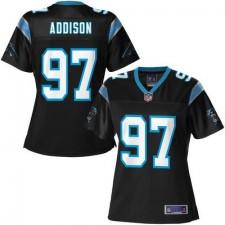 Pro Line Women's Carolina Panthers Mario Addison Team Color Jersey