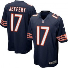 Mens Chicago Bears Alshon Jeffery Nike Navy Blue Game Jersey