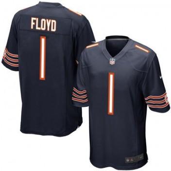 Hombres Chicago Bears Leonard Floyd Nike Marino 2016 proyecto Pick Juego NFL Tienda Camisetas
