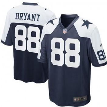 Nike Dez Bryant Dallas Cowboys Throwback Juego NFL Tienda Camisetas - Marino  Azul f62560f86b4