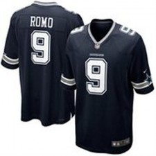 Men's Dallas Cowboys Tony Romo Nike Navy Blue Team Color Game Jersey