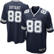 Men's Dallas Cowboys Dez Bryant Nike Navy Blue Team Color Game Jersey
