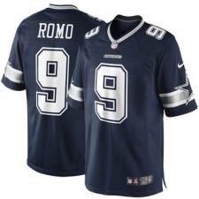 Men's Dallas Cowboys Tony Romo Nike Navy Blue Team Color Limited Jersey