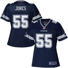 Pro Line Women's Dallas Cowboys Edgar Jones Team Color Jersey