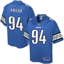 Pro Line Men's Detroit Lions Ziggy Ansah Team Color NFL Jersey