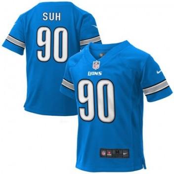nike air max - Preschool Detroit Lions Ndamukong Suh Nike Light Azul Juego NFL ...