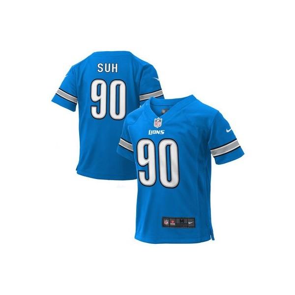 Preschool Detroit Lions Ndamukong Suh Nike Light Azul Juego NFL ... def45e14d