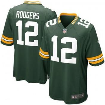 Nike Aaron Rodgers Verde Bay Packers Jóvenes Juego NFL Tienda Camisetas - Verde