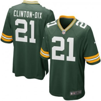 Hombres Verde Bay Packers Ha Ha Clinton-Dix Nike Verde Juego NFL Tienda Camisetas