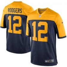 7ce417a30 Hombres Verde Bay. camisetas-green-bay-packers. Disponible. Hombres Verde  Bay Packers Aaron Rodgers Nike Marino alternativo Juego NFL Tienda ...