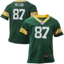 Toddler Green Bay Packers Jordy Nelson Nike Green Game Jersey