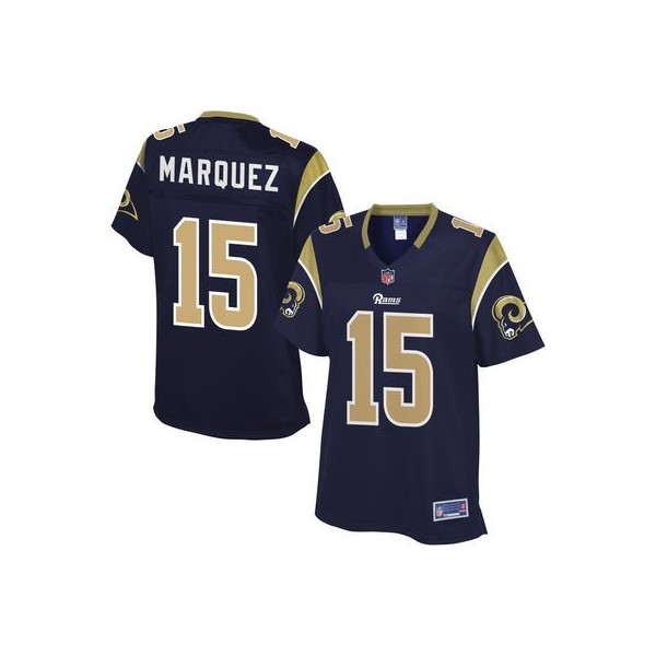 Nike jerseys for sale - Mujeres Los Angeles Rams Bradley Marquez Pro l��nea Marino Equipo ...