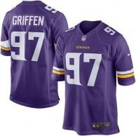 Men's Minnesota Vikings Everson Griffen Nike Purple Game Jersey