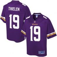 Pro Line Men's Minnesota Vikings Adam Thielen Team Color Jersey - Purple