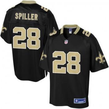 Pro línea Hombres New Orleans Saints CJ Spiller Equipo Color NFL NFL Tienda Camisetas