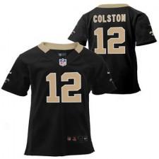 Preschool New Orleans Saints Marques Colston Nike Black Game Jersey