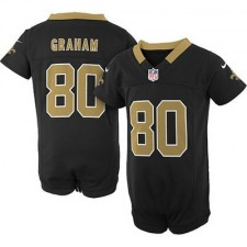 Nike New Orleans Saints Jimmy Graham Newborn Game Romper Jersey