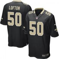 Nike Curtis Lofton New Orleans Saints Youth Game Jersey - Black