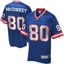 Men's Pro Line New York Giants Phil McConkey Retired Player Jersey