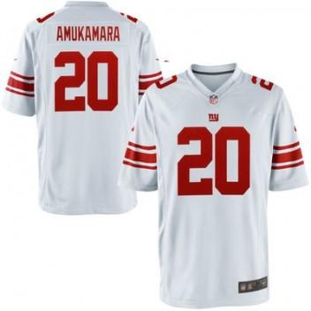 76dbd29e20 Jóvenes New York Giants Prince Amukamara Nike Blanco Juego NFL Tienda  Camisetas. Youth New York Giants Prince Amukamara Nike White Game Jersey