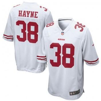 Hombres San Francisco 49ers Jarryd Hayne Nike Blanco Juego NFL Tienda Camisetas