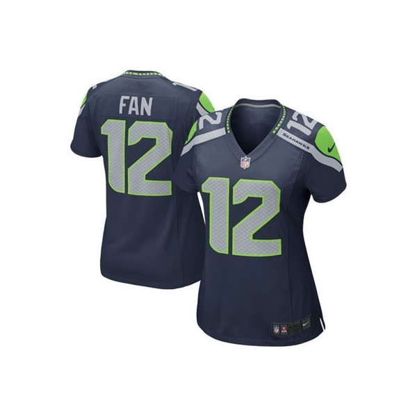 1b326f2d1c Mujeres Seattle Seahawks Fan 12 Nike College Marino Juego NFL Tienda ...