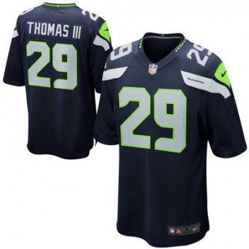 Hombres Seattle Seahawks Earl Thomas III Nike College Marino Juego NFL Tienda Camisetas