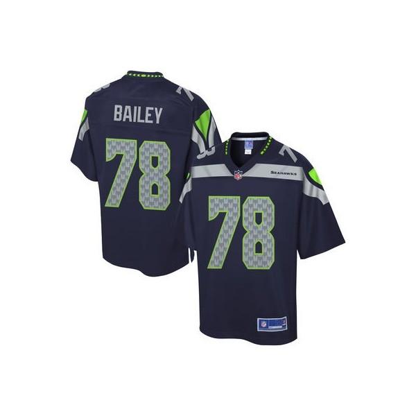 Pro Line Men's Seattle Seahawks Alvin Bailey Team Color Jersey
