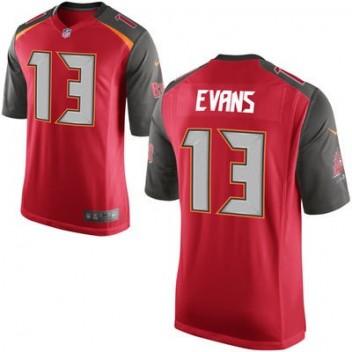 Hombres Tampa Bay Buccaneers Mike Evans Nike Rojo Juego NFL Tienda Camisetas