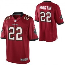 Nike Doug Martin Tampa Bay Buccaneers Historic Logo Limited Jersey - Red
