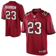 Nike Mark Barron Tampa Bay Buccaneers Historic Logo Limited Jersey - Red