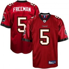 Reebok Josh Freeman Tampa Bay Buccaneers Historic Logo Youth Replica Jersey - Red