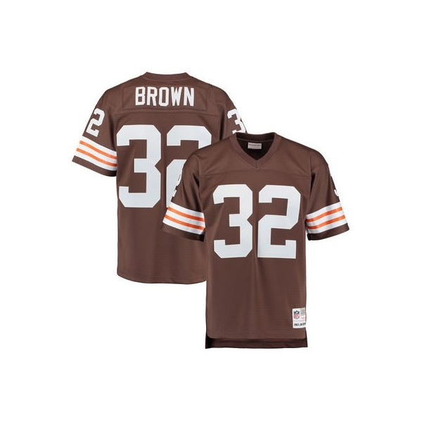 check out 6ad12 50eb4 Hombres Cleveland Browns Jim Brown Mitchell & Ness Brown ...